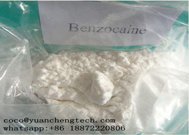 China O anestésico local de CAS 94-09-7 droga a certificação do ISO da pureza alta PBF do pó do Benzocaine fábrica